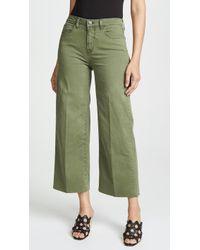 L'Agence - Danica Wide Leg Jeans - Lyst