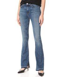 Hudson | Heartbreaker High Rise Boot Cut Jeans | Lyst