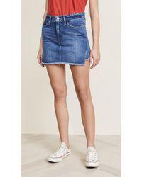 FRAME - Le Miniskirt - Lyst