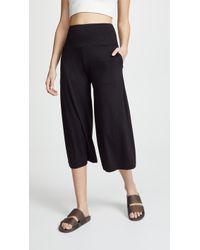 Onzie - Wide Leg Crop Sweatpants - Lyst