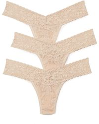 Hanky Panky - 3 Pack Signature Lace Low Rise Thong - Lyst