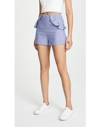 The Fifth Label - Parcel Stripe Shorts - Lyst