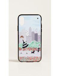 Kate Spade - Jewelled Shopper Iphone X Case - Lyst
