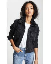 Nobody Denim - Fleur Jacket With Removable Collar - Lyst