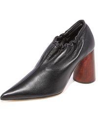 Helmut Lang | Elasticized Court Shoes | Lyst