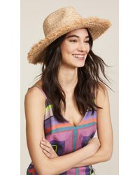 Hat Attack - Fringed Continental Hat - Lyst