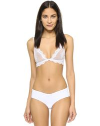 Only Hearts - So Fine Lace Bralette - Lyst
