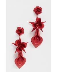Jennifer Behr - Rosette Earrings - Lyst