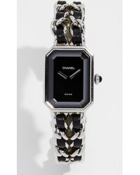 What Goes Around Comes Around - Chanel Silver Premiere Watch, 20mm - Lyst