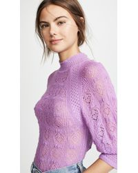 See By Chloé Pointelle Pullover