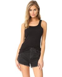 Splendid - 1x1 Tank Top - Lyst