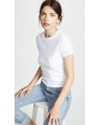 Stateside - The Perfect Cropped Tee - Lyst