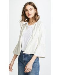 Cupcakes And Cashmere - Aizzia Cropped Blazer - Lyst