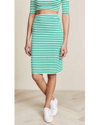 Susana Monaco - Sachi Stripe Skirt - Lyst