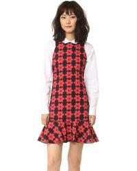 Holly Fulton - Floral Print Dress - Lyst