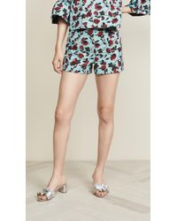 2738c11357d6 Lyst - Alice + Olivia Sherri  Sequin Shorts in Black