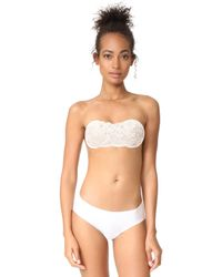 NuBra | Feather Lite Cup Bandeau Bra | Lyst