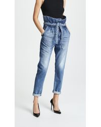 Tortoise - Morenia Paper Bag Gf Jeans - Lyst