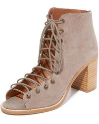 Jeffrey Campbell - Cors Peep Toe Booties - Lyst