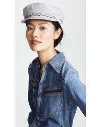 Eugenia Kim - Marina Newsboy Hat - Lyst