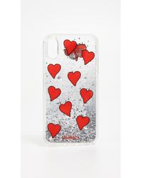Iphoria - Transparent Floating Hearts Iphone X Case - Lyst