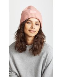 2e3f809a Acne Pansy With Face Hat in Pink - Lyst