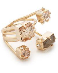 Alexis Bittar - Multi Stone Ring - Lyst