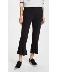 BB Dakota | Ruffle Bottom Trousers | Lyst