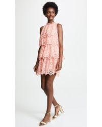 Rebecca Taylor - Sleeveless Pinwheel Dress - Lyst