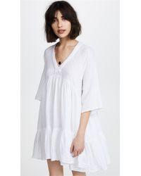 9seed - Marbella Ruffle Dress - Lyst