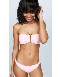 Proenza Schouler - Bandeau Top Bikini Set - Lyst