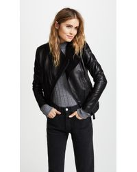 Mackage - Pina Leather Jacket - Lyst