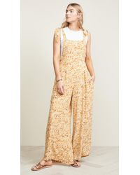 4bb376236d7c Free People Beach Bum Jumpsuit in White - Lyst