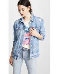 Madewell - Oversized Jean Jacket - Lyst