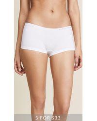 Calvin Klein - Pure Seamless Boy Shorts - Lyst