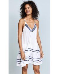 9seed   St Tropez Ruffle Mini Dress   Lyst