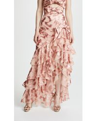 Rodarte - Ruffled Skirt With Bow Detail - Lyst