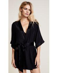 Kiki de Montparnasse - Silk Robe - Lyst