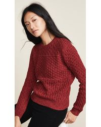 Birds Of Paradis - The Laura Multi Textured Sweater - Lyst