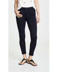 bfd6987b857f L'Agence - Margot High Rise Lightweight Ankle Skinny Jeans - Lyst