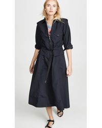 Toga Nylon Taffeta Dress - Black