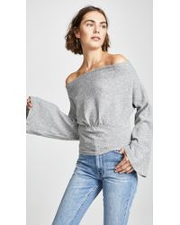 Free People - Crazy On You Thermal Jumper - Lyst