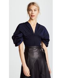 Jonathan Simkhai - Drop Sleeve Top - Lyst