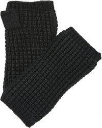 Hat Attack - Waffle Knit Plush Arm Warmer - Lyst