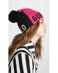Kate Spade - Hello Gorgeous Beanie Hat - Lyst
