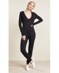 Riller & Fount - Isabelle French Terry Jumpsuit - Lyst