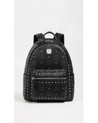 MCM - Small Stark Studs Backpack - Lyst