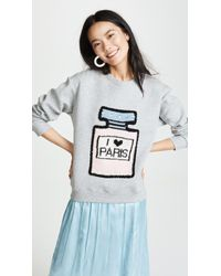 Michaela Buerger - I Love Paris Sweatshirt - Lyst