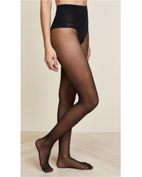 dca1d079d Falke Control Top Silhouette Tights in Black - Lyst