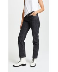 Opening Ceremony - Dip Mid-rise Straight-leg Jeans - Lyst
